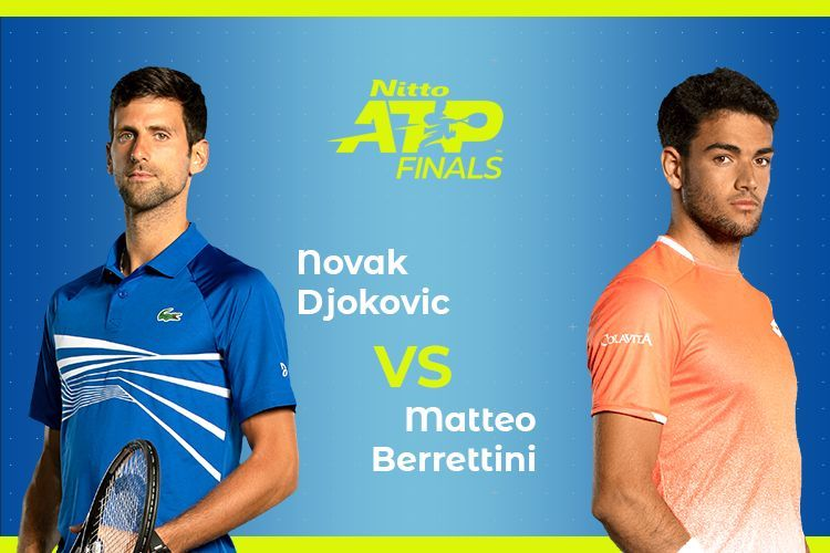 Novak Djokovic vs Matteo Berrettini