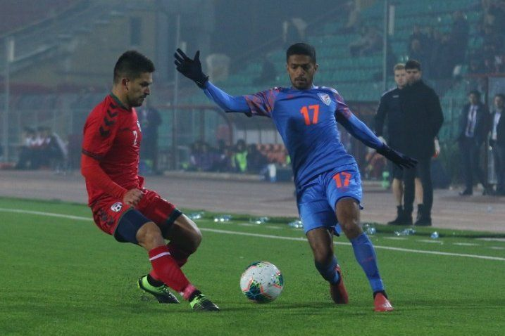 Mandar Rao Dessai performed poorly and was subbed off at half-time (Image Credits: AIFF Media)