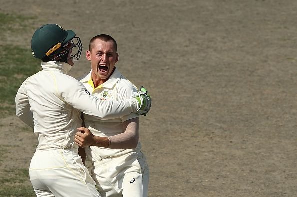 Labuschagne picked up 7 wickets in 2018 in the two-match Test series against Pakistan