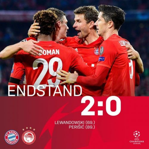 Bayern got the better of Olympiacos in the end