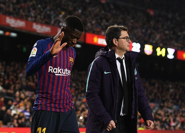 Barcelona players have been hit by injuries this season