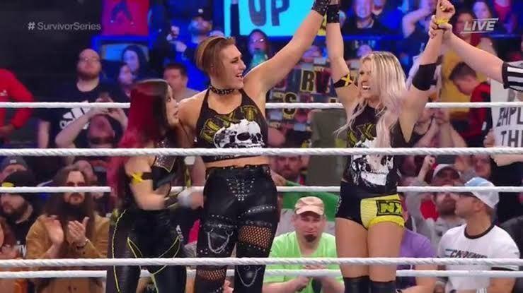रिया रिप्ली ने टीम NXT को रॉ और स्मैकडाउन पर जीत दिलाई