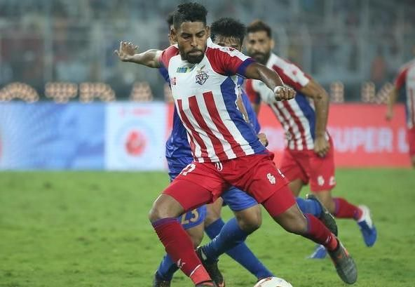 Roy Krishna salvaged a point for ATK. Image: ISL