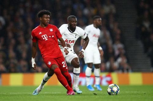 David Alaba had a good showing for Bayern playing out of position