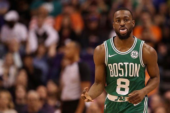 Kemba Walker has enjoyed a strong first month with the Celtics