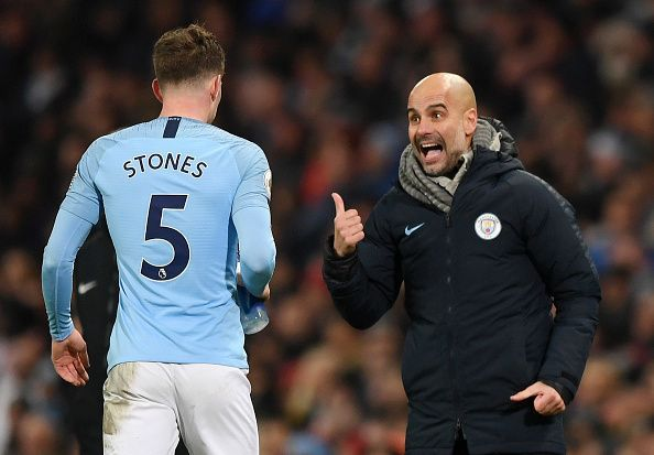 Stones has spent too much time on the bench for Manchester City in the absence of other centre-back options