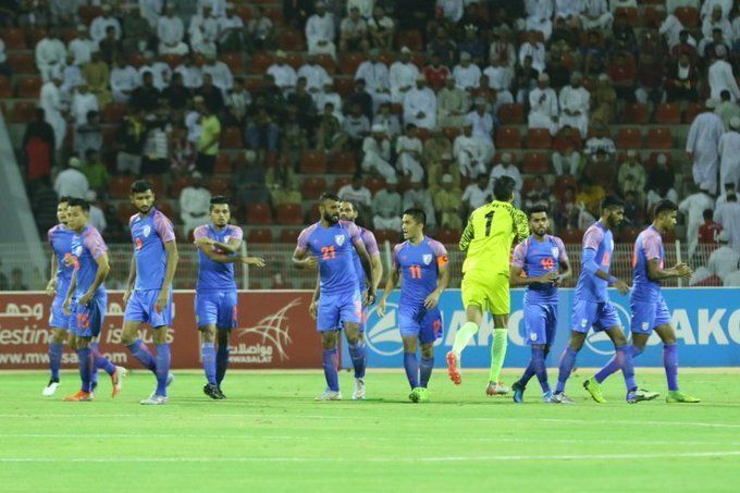 India went down 1-0 to Oman to stay winless in the World Cup qualifiers