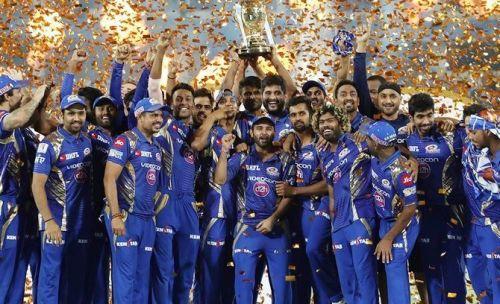 मुंबई ने रिकॉर्ड चार बार आईपीएल खिताब पर कब्जा जमाया है