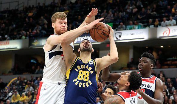 Washington Wizards v Indiana Pacers