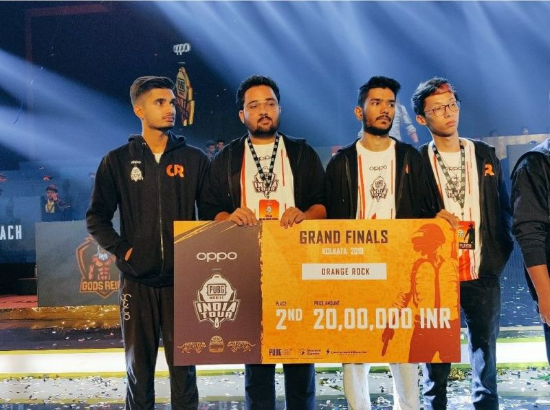 Orange Rock Esports bagged the 2nd position in PMIT 2019