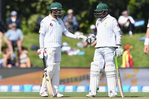 Babar Azam (left) and Azhar Ali (right)