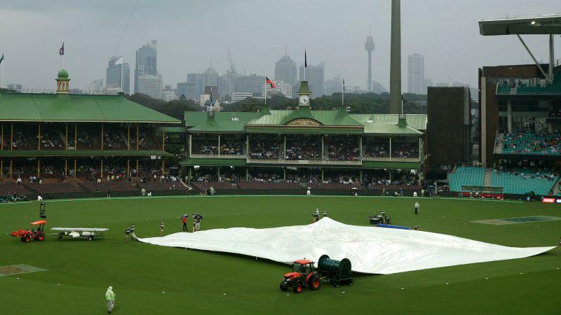 Wet weather wreaked havoc in Sydney on Sunday