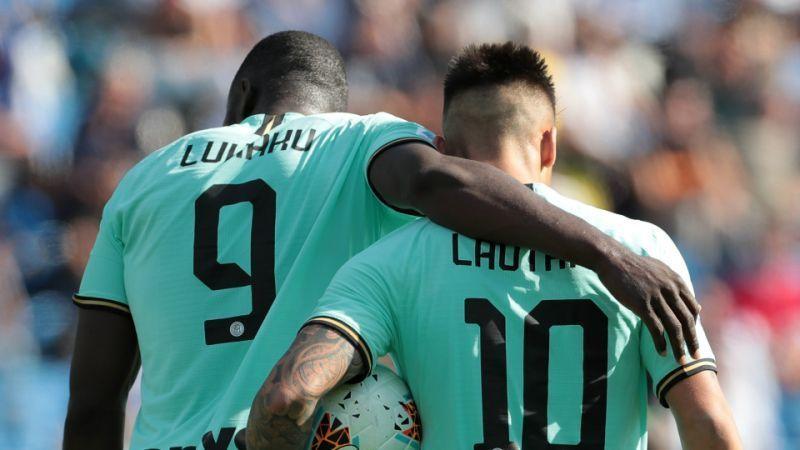 Romelu Lukaku and Lautaro Martinez have been on fire for Inter this season.