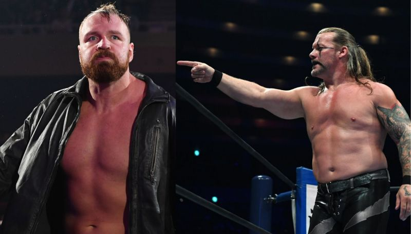 Chris Jericho and Jon Moxley are both leading figures in AEW!