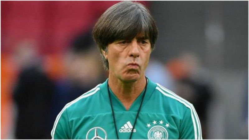 Low lowered the expectations for Germany from his comments