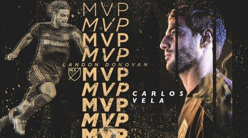 Carlos Vela has been named the Landon Donovan MVP for 2019