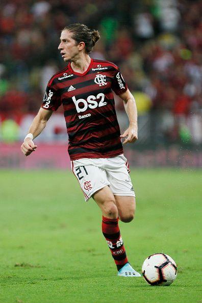 Luis now plies his trade at Flamengo.