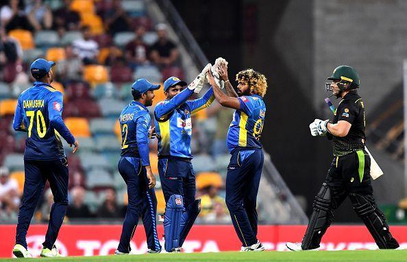 श्रीलंका की टीम इस लिस्ट में नंबर एक पर है