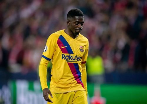 Ousmane Dembele was omitted from the travelling squad