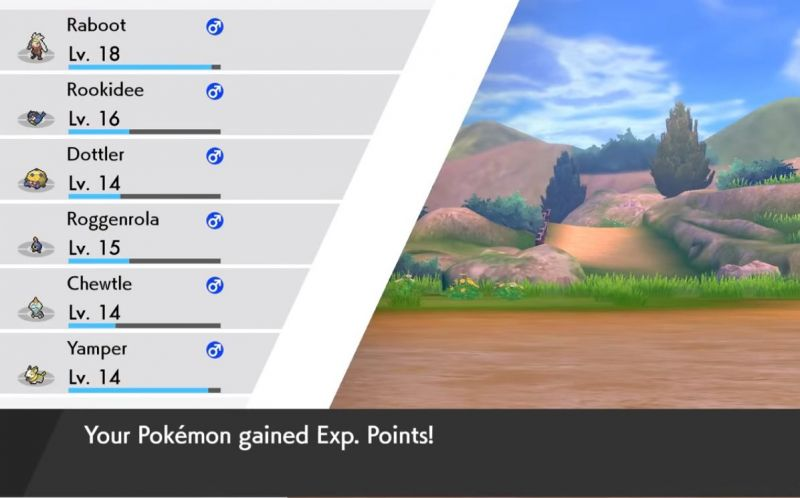 All your Pokemon get XP for catching or battling