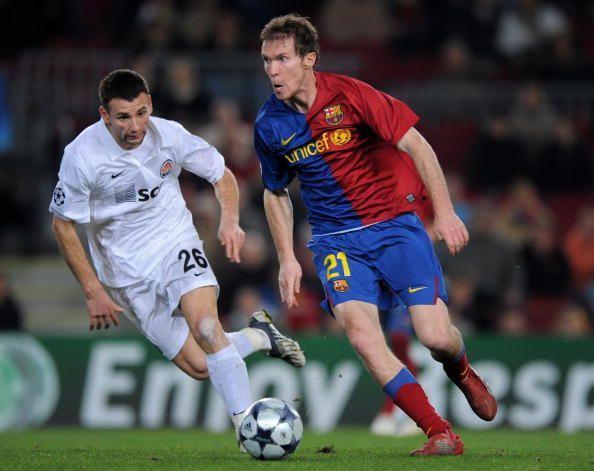 Barcelona v Shakhtar Donetsk - UEFA Champions League