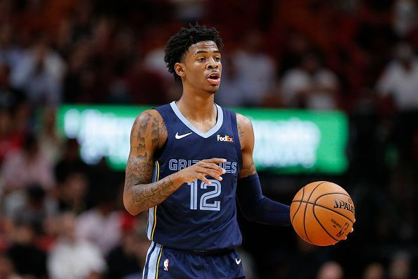 Ja Morant is among the rookies that have made a big impression through two weeks of the new season