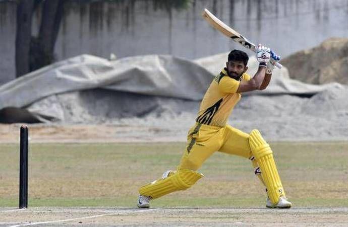 राहुल त्रिपाठी की जबरदस्त पारी (Photo-Sportstar)