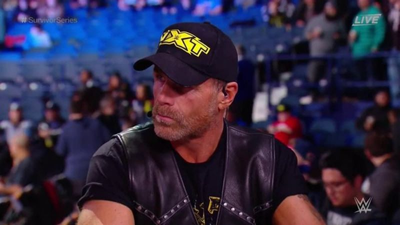 Shawn Michaels joined the kickoff show panel