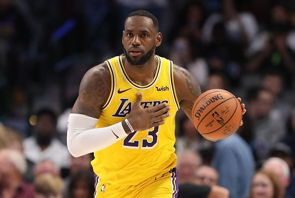 LeBron James and the Los Angeles Lakers will host the Golden State Warriors