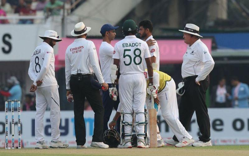 दोनों खिलाड़ियों को मोहम्मद शमी की गेंद लगी (Photo-Bcci)