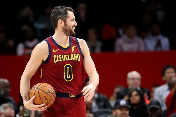 Kevin Love has been strongly linked with a move away from the Cleveland Cavaliers