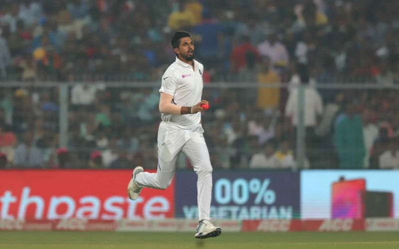 Ishant Sharma took four wickets; total nine in the match so far.
