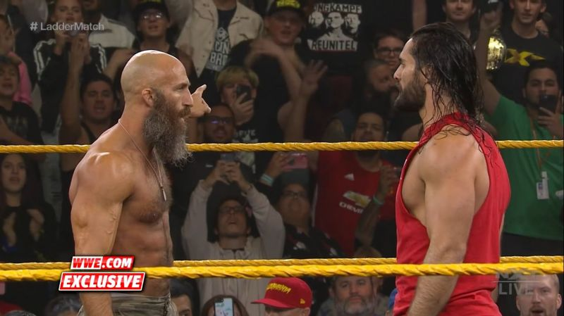 Ciampa and Rollins