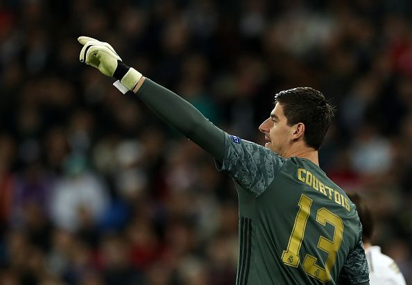 Courtois has kept five consecutive clean sheets in all competitions
