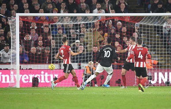 Rashford capped off an 8-minute spell when Sheffield United looked hapless