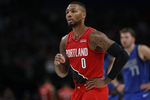 Damian Lillard and the Portland Trail Blazers will face the Warriors at Chase Center