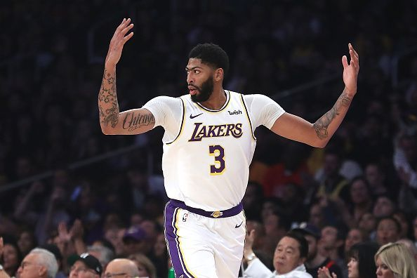 Anthony Davis is putting up big numbers for the Lakers