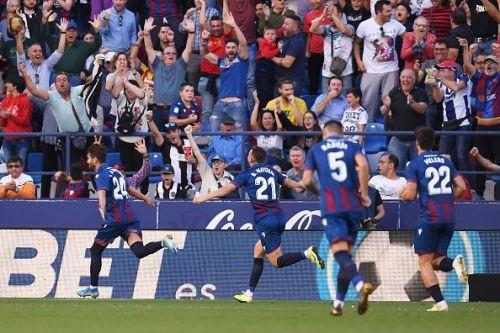 Levante defeated Barcelona 3-1