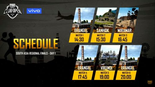 PUBG PMCO South Asia Finals starts at 2:30 pm IST
