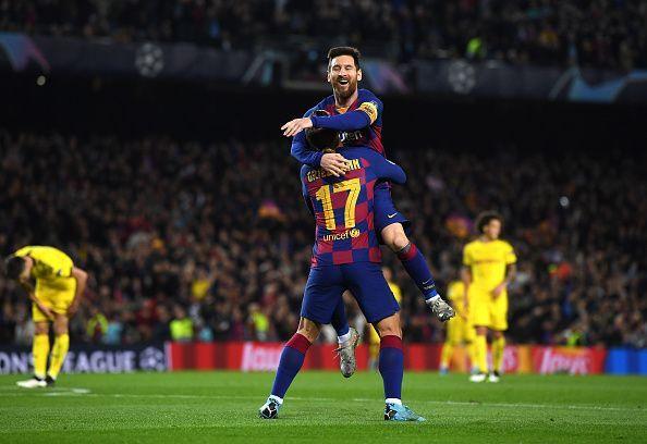 FC Barcelona cruised to victory against Borussia Dortmund