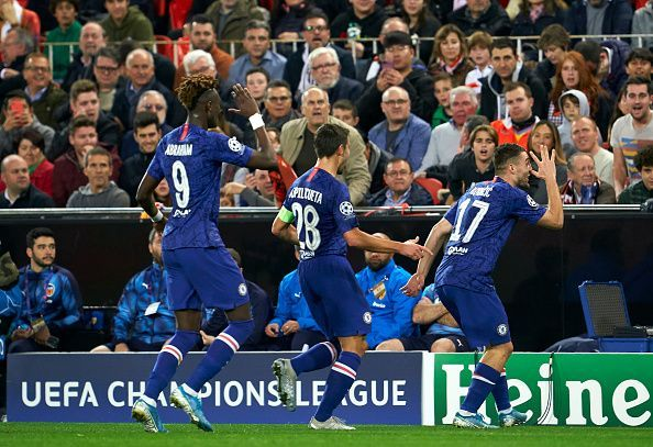 Chelsea drew with Valencia in an exciting Champions League game tonight