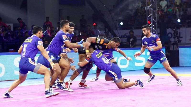 Haryana Steelers finished at the 5th position on the points table
