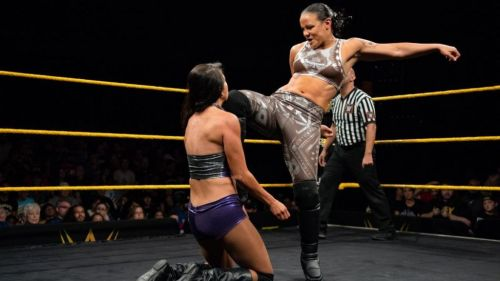 Shayna Baszler has dominated the women's division in NXT for over a year