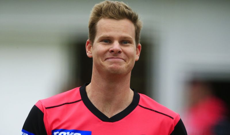 Sydney Sixers star Steve Smith
