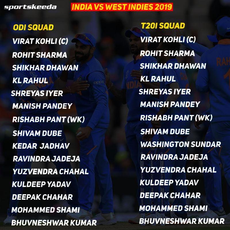 India squads