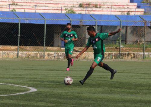 SUFC's Umesh got a brace against Bangalore Dream United