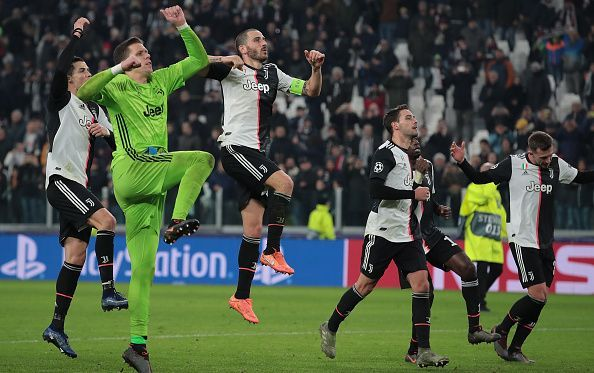 Juventus posted a narrow 1-0 win over Atletico Madrid