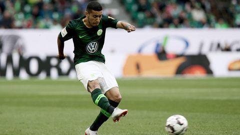 William in action for Wolfsburg