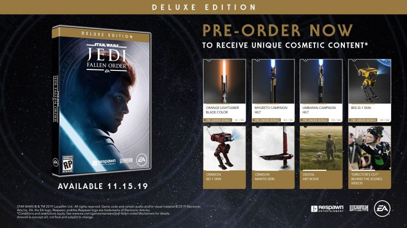 Jedi Fallen Order- Deluxe Edition