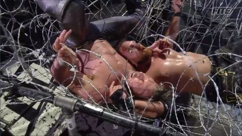 The main event was a truly brutal and grueling affair